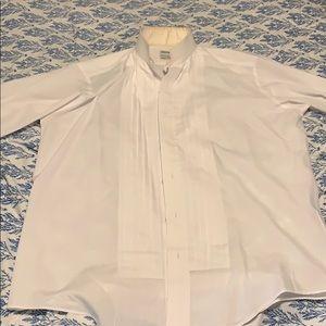 Pierre Cardin tux shirt